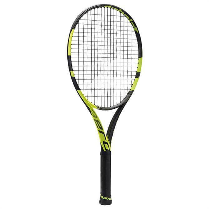 Babolat Junior Pure Aero 26 Tennis Racquet- Black/Yellow