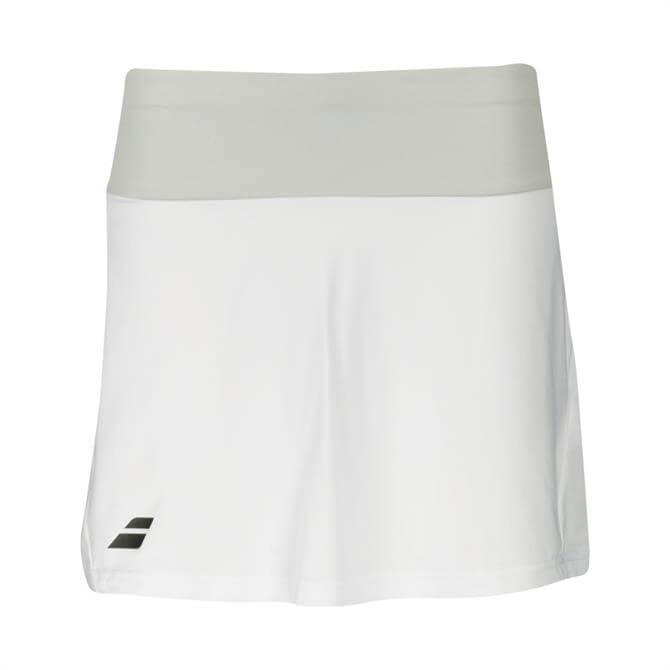 Babolat Women's Core Long Tennis Skirt- White