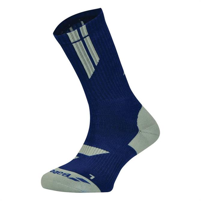 Babolat Men's Team Big Logo Tennis Socks- Estate Blue