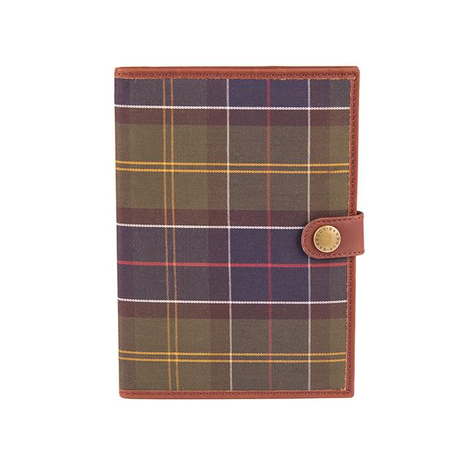 Barbour Tartan A5 Notebook & Cover