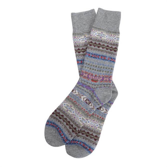 Barbour Men's Boyd Fair Isle Socks