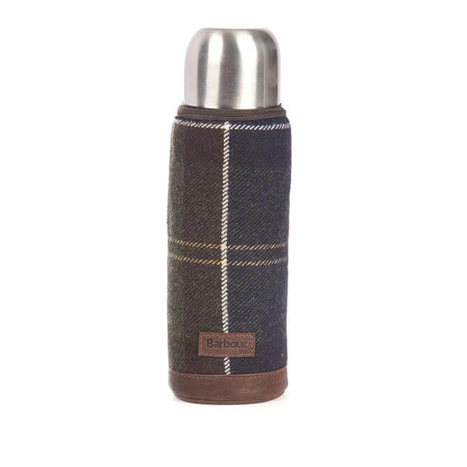 Barbour Tartan Thermos Flask