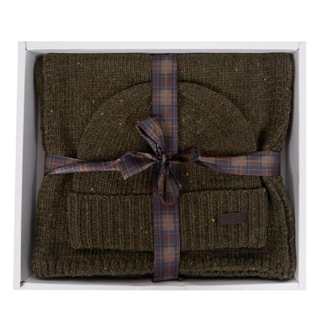 Barbour Donegal Knitted Giftset
