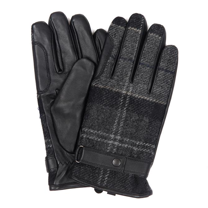 Barbour Nebrough Tartan Gloves