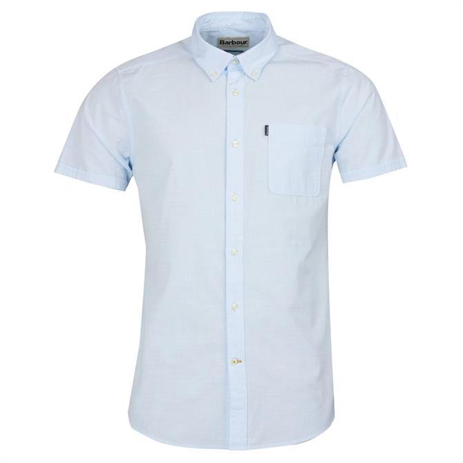 Barbour Men's Stripe Short Sleeve Tailored Shirt