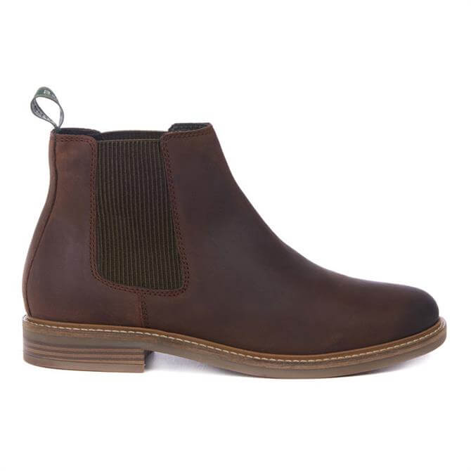 Barbour Farsley Choco Chelsea Boots
