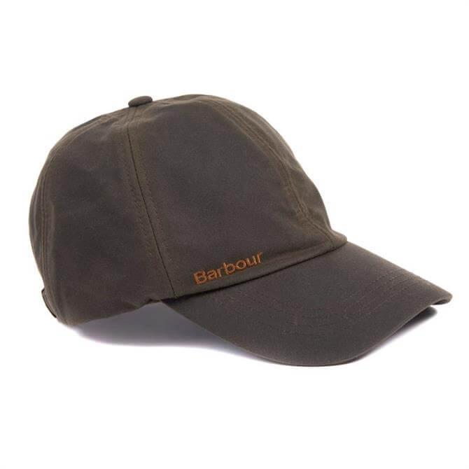 Barbour Waxed Cotton Prestbury Sports Cap