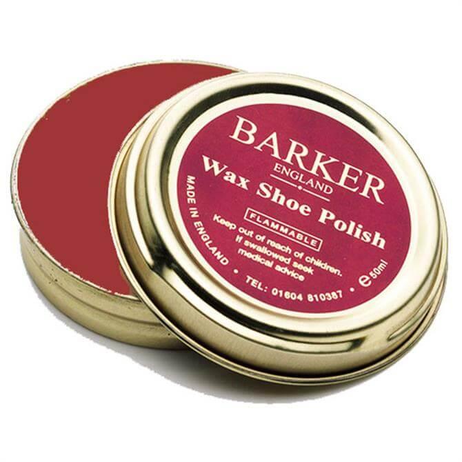 Barker Wax Shoe Polish - Tan