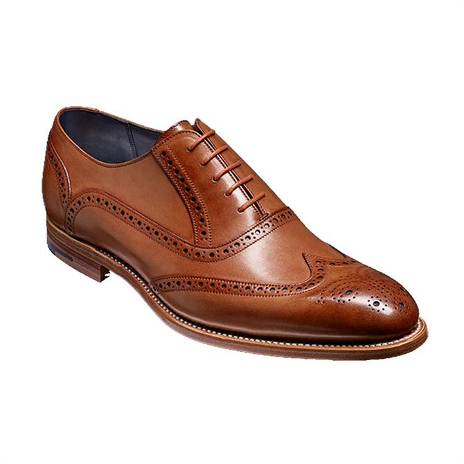 Barker Valiant Brogue Shoe Brown