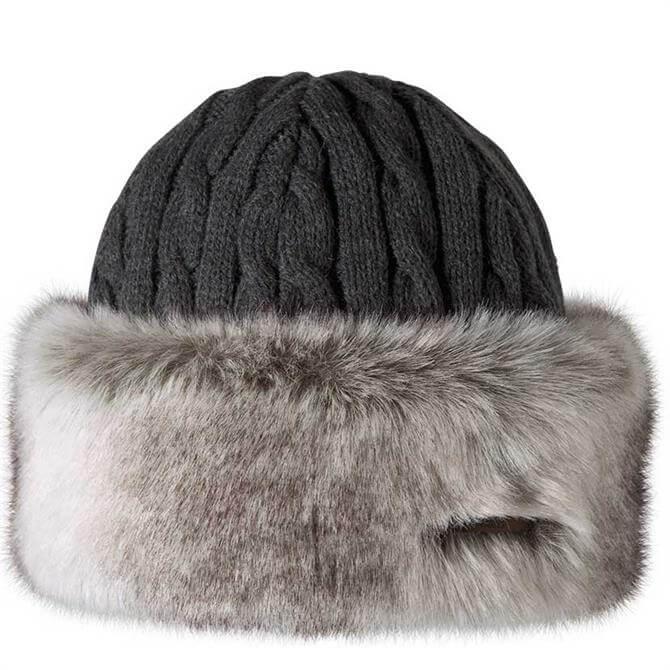 Barts Womens Fur Cable Bandhat