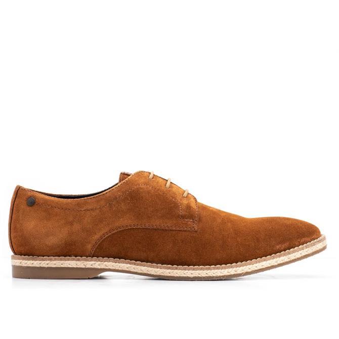 Base London Kinch Men's Lace Up Suede Shoe