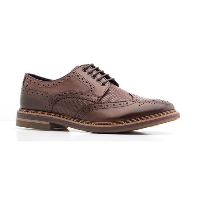 Base London Rothko Brogue Shoe Waxy