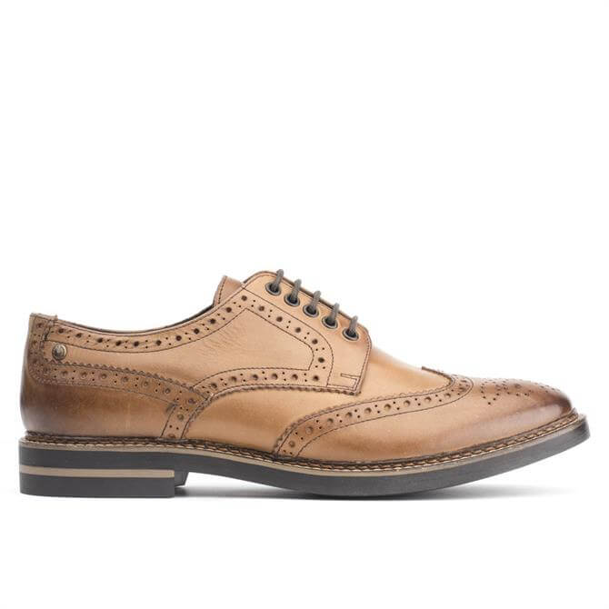 Base London Mens Rothko Brogue Shoe