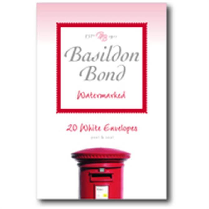 Basildon Envelope Small White