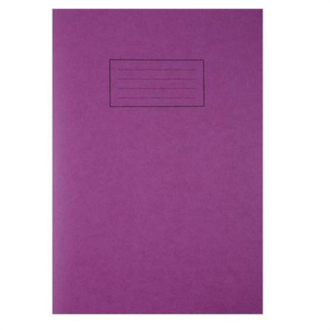 Silvine A4 Exercise Book with Margin
