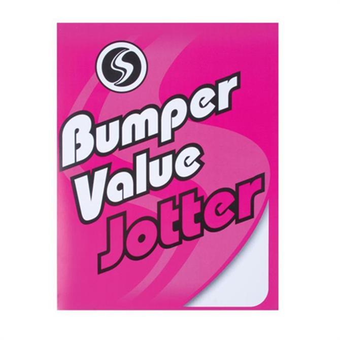 Silvine Bumper Value Jotter