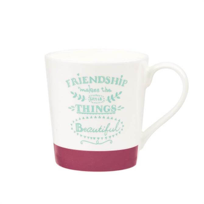 Queens Chasing Rainbows Friendship Mug