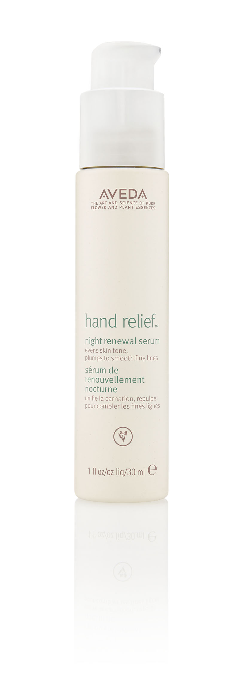 An image of Aveda Hand Relief Night Renewal Serum 30ml