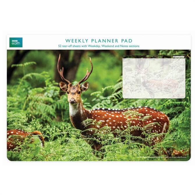 BBC Blue Planet Weekly Planner Deer