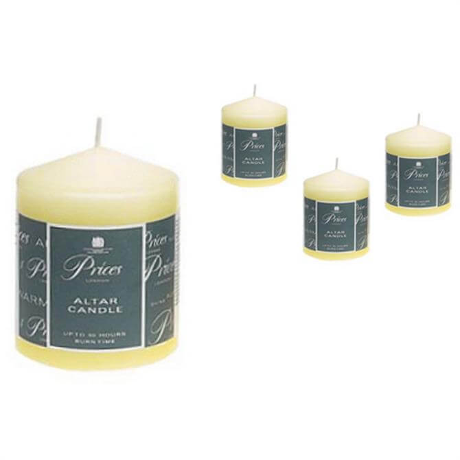 Prices Altar Candle - 10 cms