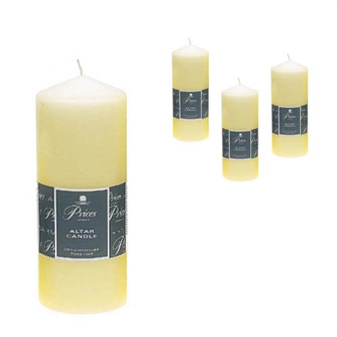 Prices Altar Candle - 20 cms