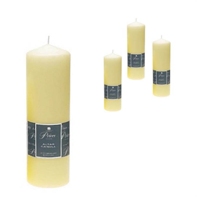 Prices Altar Candle - 25 cms