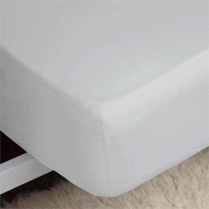 Belledorm Percale Cloud Fitted Sheet