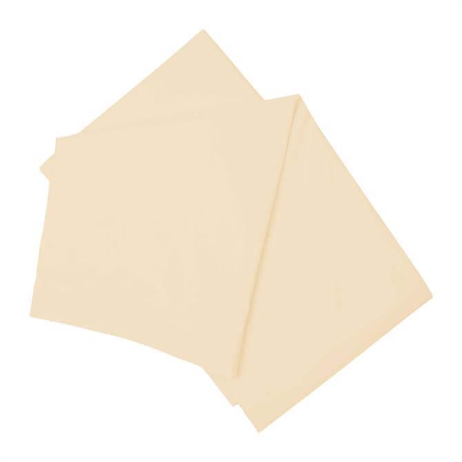 Belledorm Brushed Cotton Flat Sheet