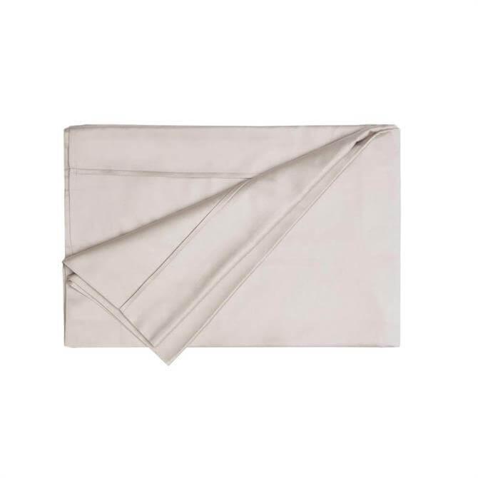 Belledorm Egyptian Cotton Thread Count 200 Oyster Flat Sheet