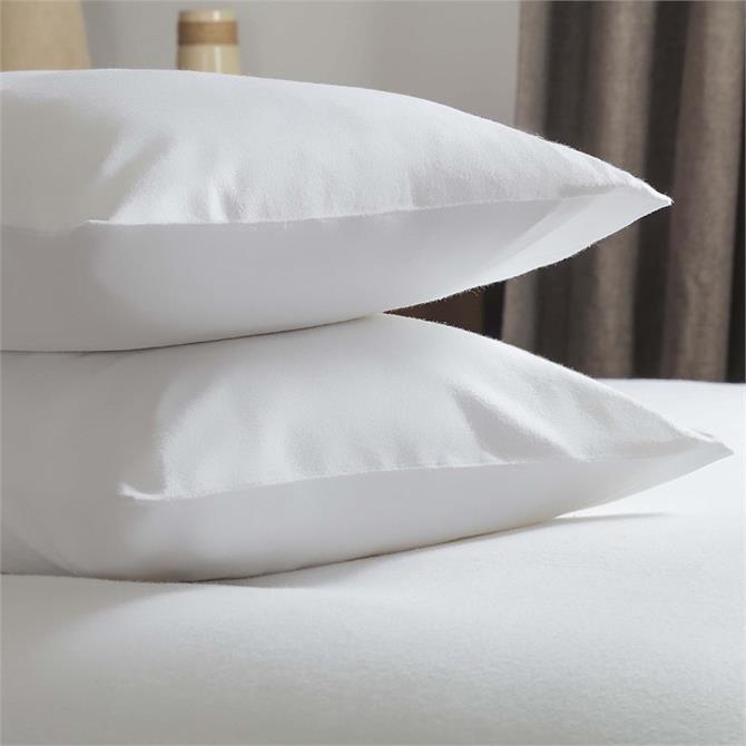 Belledorm Brushed Cotton Pillowcase Pair
