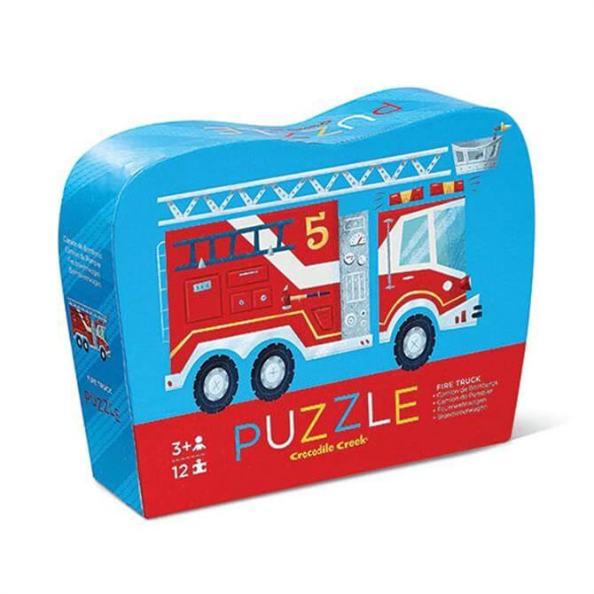 Crocodile Creek 12 Piece Fire Truck Jigsaw Puzzle