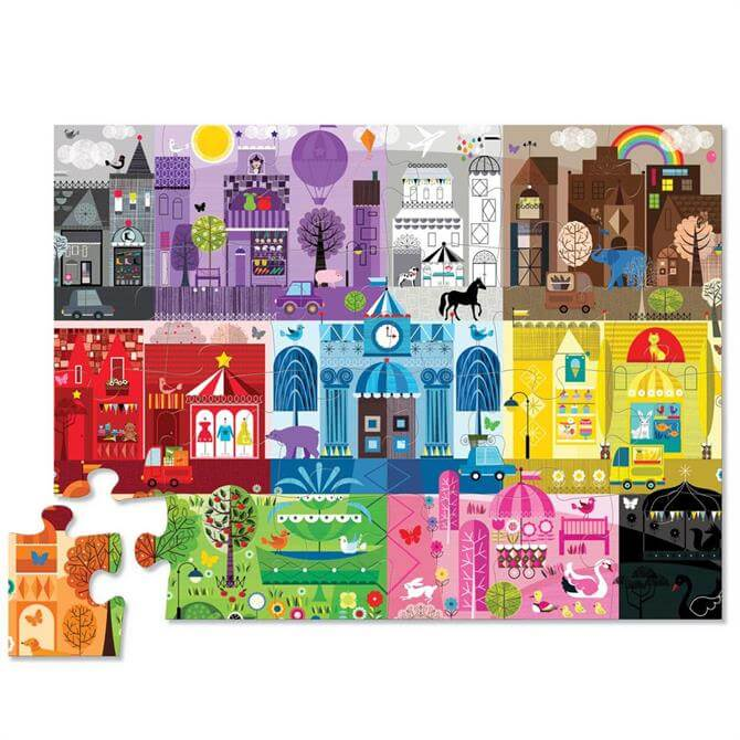 Crocodile Creek 24 Piece Colour City Floor Jigsaw Puzzle