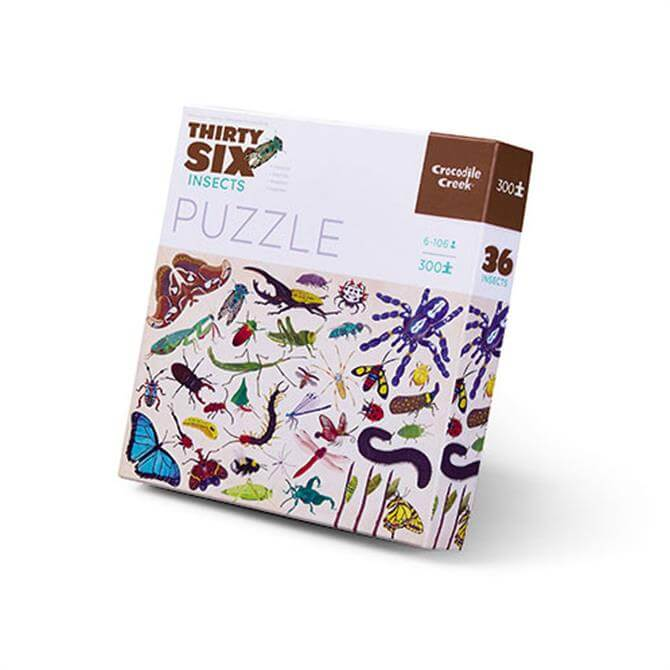 Crocodile Creek 300 Piece Insects Jigsaw Puzzle