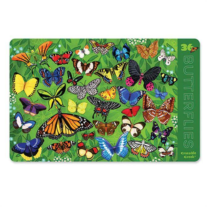 Crocodile Creek 36 Butterflies Placemats