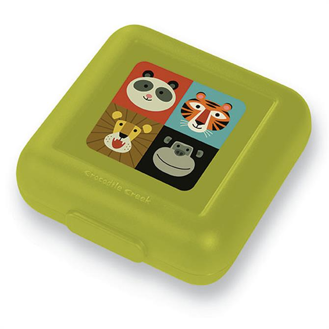 Crocodile Creek Animalia Sandwich Lunch Box