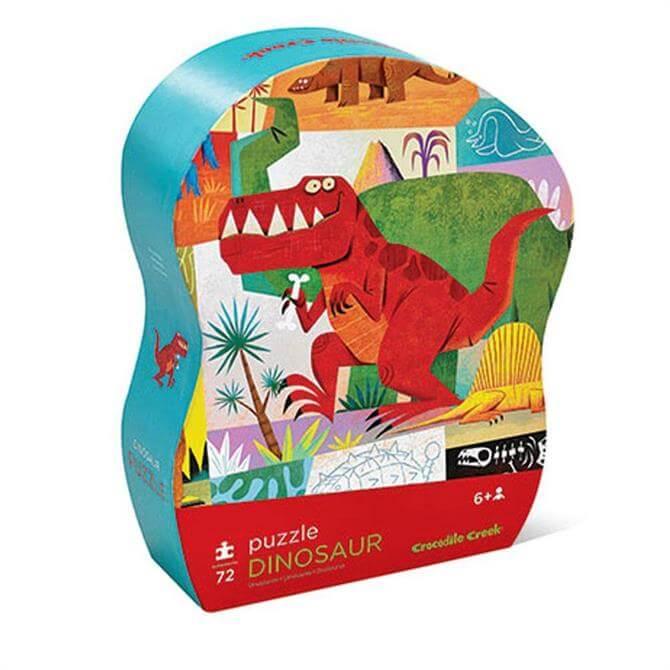 Crocodile Creek 72 Piece Dinosaur Jigsaw Puzzle