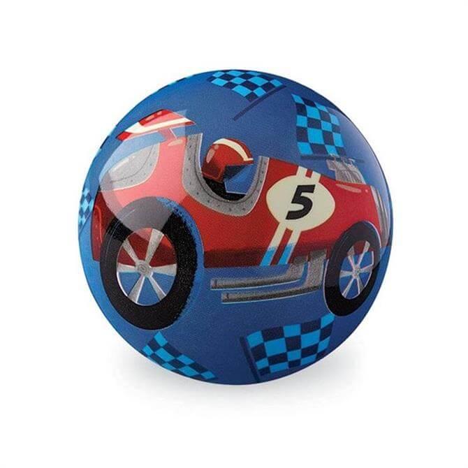 Crocodile Creek 10cm Race Car Ball