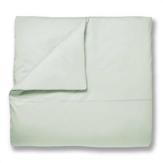 Bianca Green Plain Dye TC200 Cotton Quilt Cover