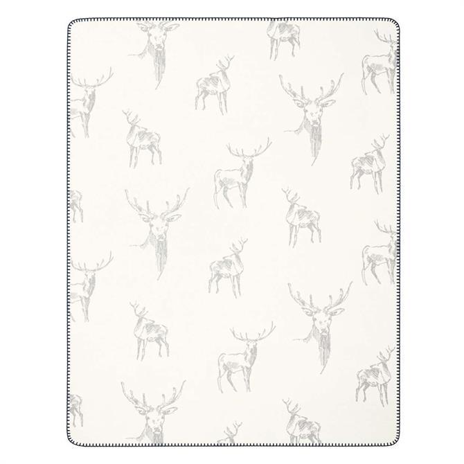 Biederlack Oh My Deer Throw