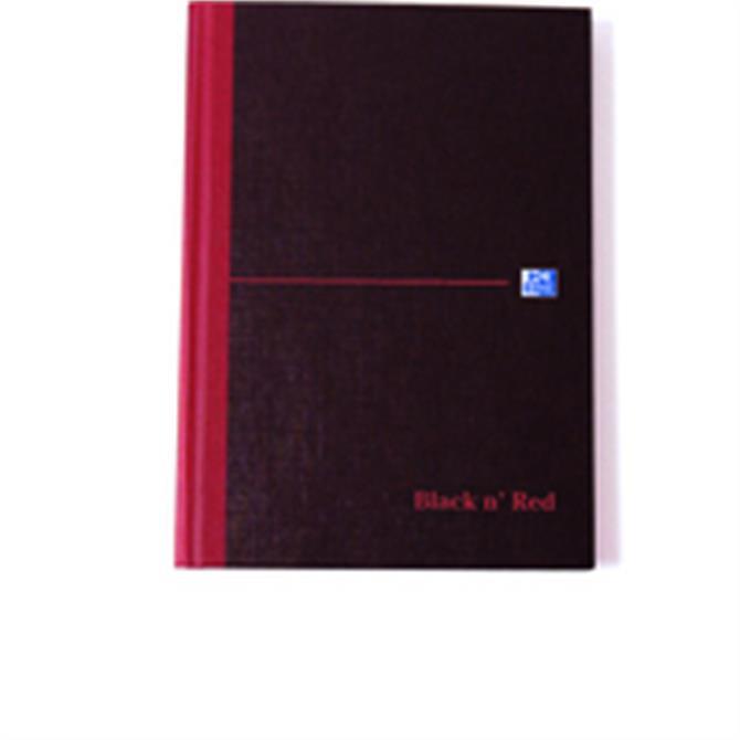 Black n Red Book 297x140mm Feint