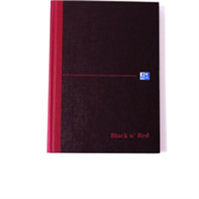 Black n Red Book A5 Index