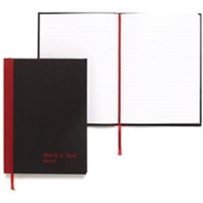 Black n Red Book A6 Feint 100080429