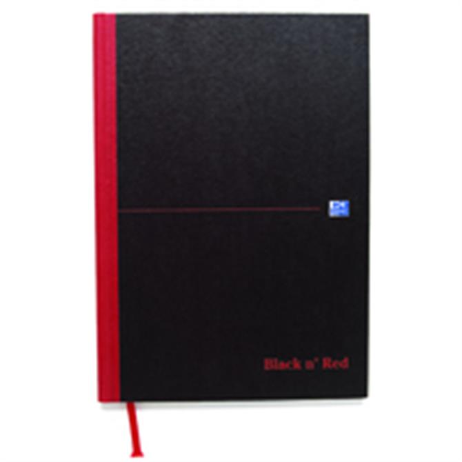 Black n Red Book A4 Narrow Ft
