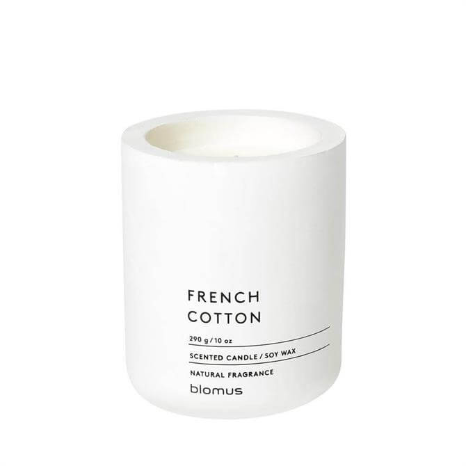 Blomus French Cotton Large Scented Candle