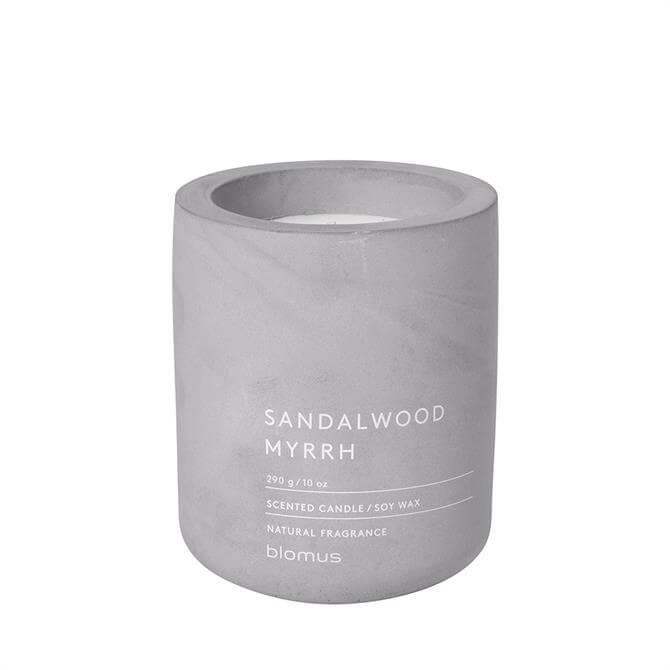 Blomus Sandalwood Myrrh Large Scented Candle