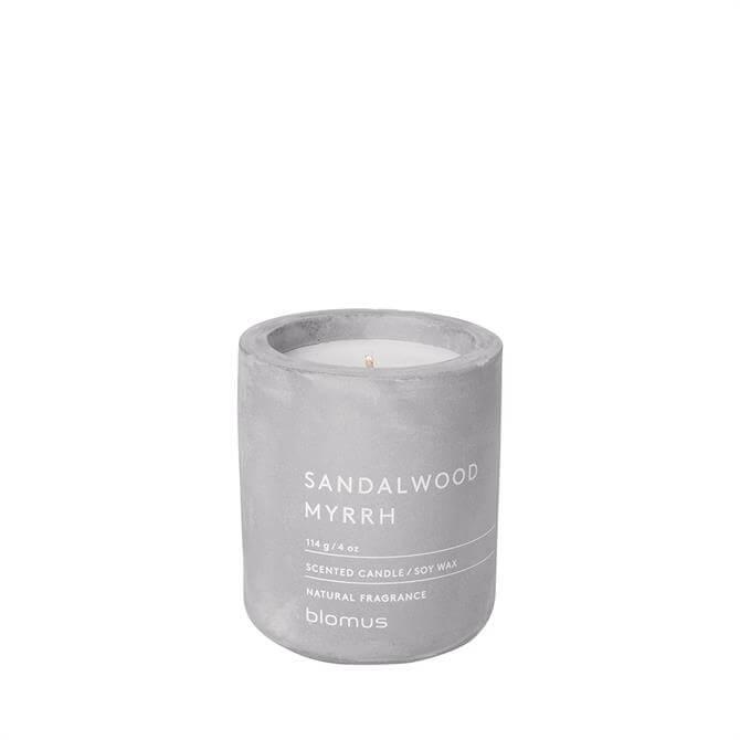 Blomus Sandalwood Myrrh Scented Candle
