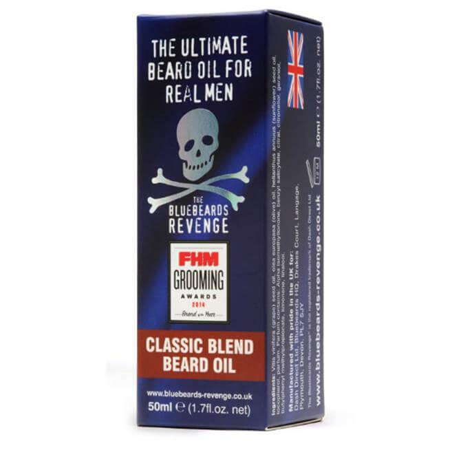 Bluebeards Revenge Classic Blend Beard Oil 50ml