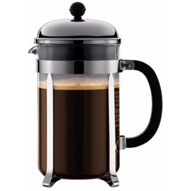 Bodum Chambord Chrome 8 Cup Cafetiere