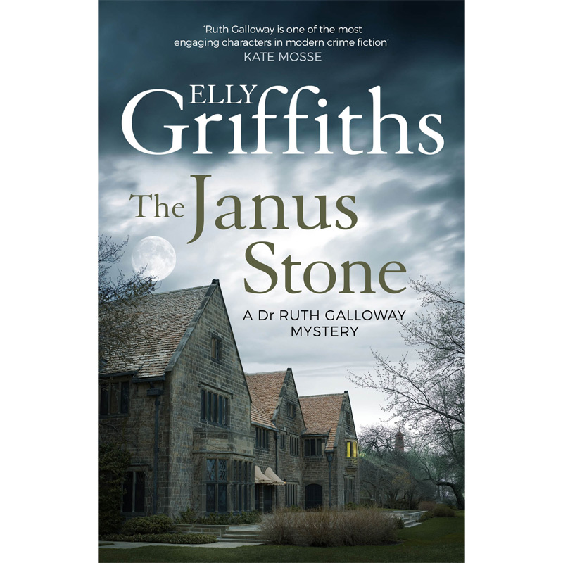 An image of The Janus Stone - The Dr Ruth Galloway Mysteries 2 by Elly Griffiths (Paperback)