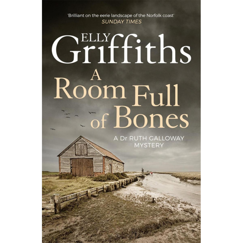 An image of A Room Full of Bones: The Dr Ruth Galloway Mysteries 4 by Elly Griffiths (Paperb...